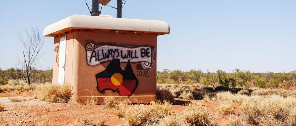 Graffiti in Outback Australia - Kudos go to Cricket Australia for inclusivity on 26 January, announcing they would drop references to Australia Day in promotional material for Big Bash League games acknowledging the day is a day of mourning for some. Instead, CA will refer to the day as 26 January, a relatively moderate stance.