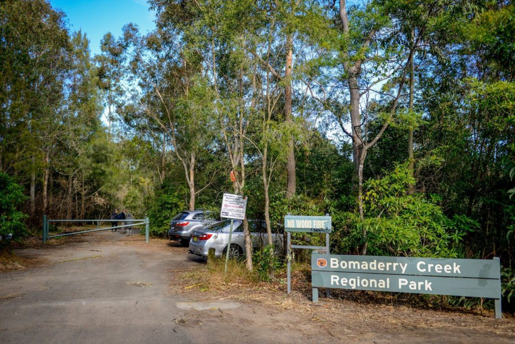 Bomaderry Creek regional Park in the heart of Bomaderry/Nowra