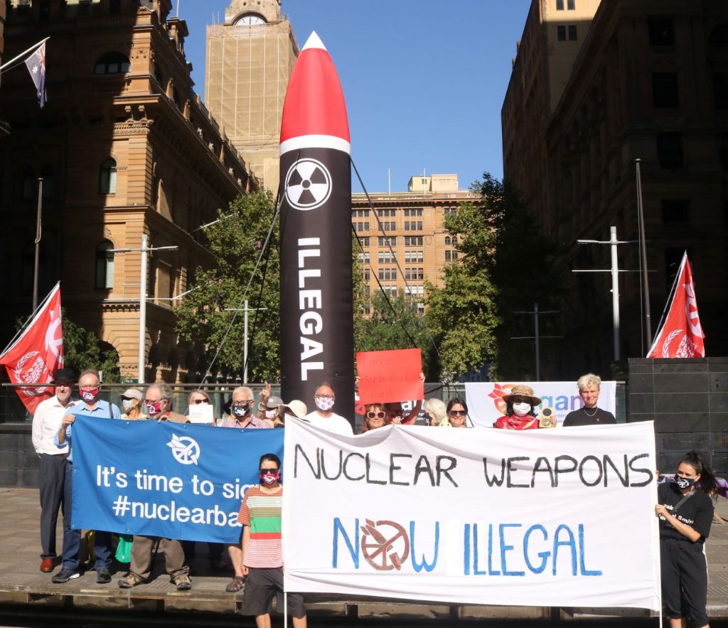 The Un Treaty to ban Nuclear Weapons came into force in January 2021, Australia has not signed the treaty