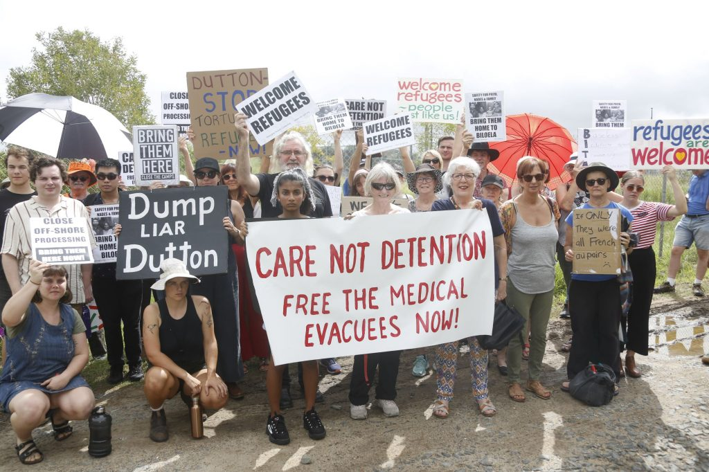 Medivac refugees released from hotel detention, no reason given, an arbitrary decision by Peter Dutton that lacks explanation