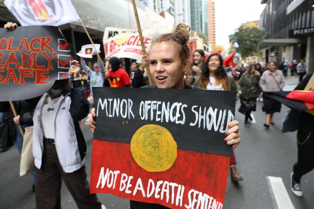 minor offences should not lead to deaths in custody for Indigenous people