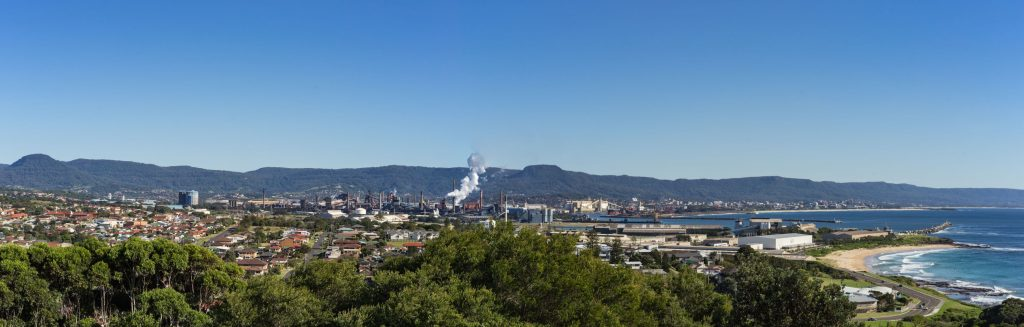 Port Kembla Copper shut down at the end of the century leading to a downsize of the industrial port and the industry that remains has to adhere to stricter environmental protection regulations.