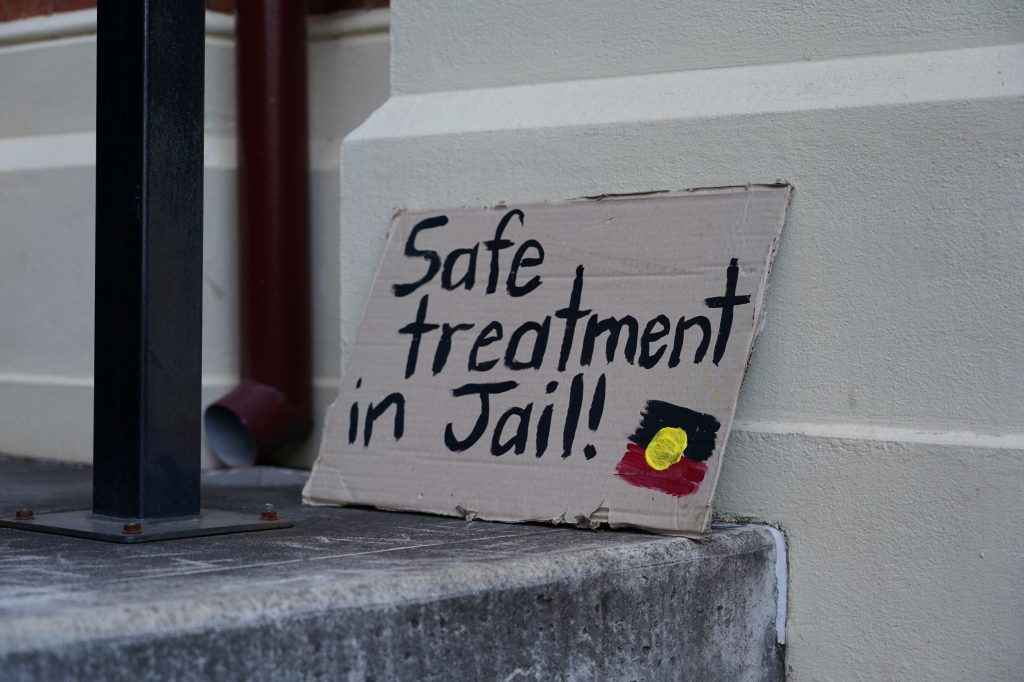 Aboriginal people are asking to be safe in jail and to put an end to deaths in custody