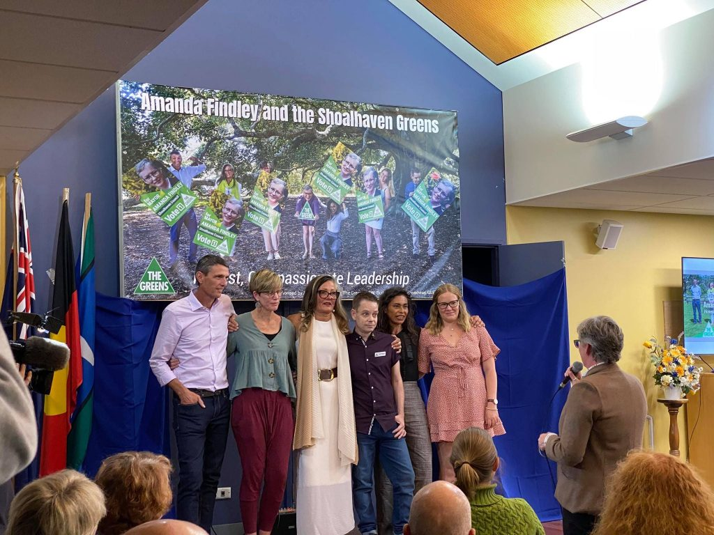 Shoalhaven Greens 6+1  team for 2021 council elections