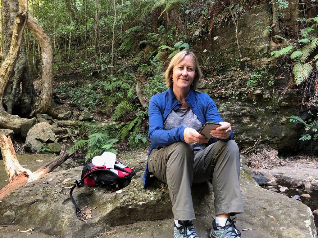 Jodi Keast from the Kiama Greens Team