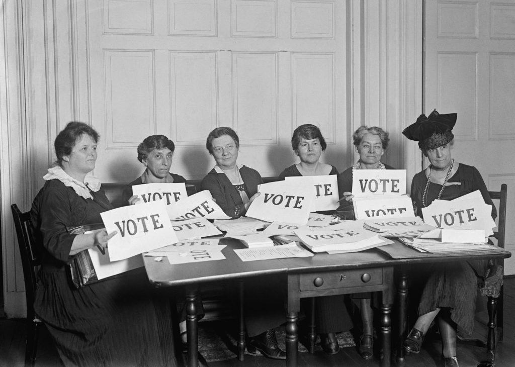 women voters in 1924