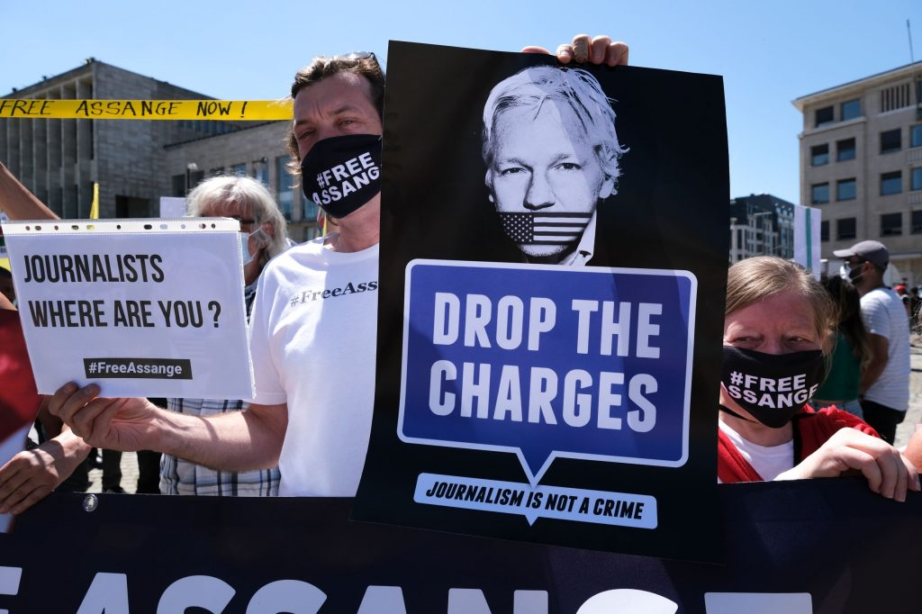 Where are the journalists to speak up for Julian Assange and freedom of speech