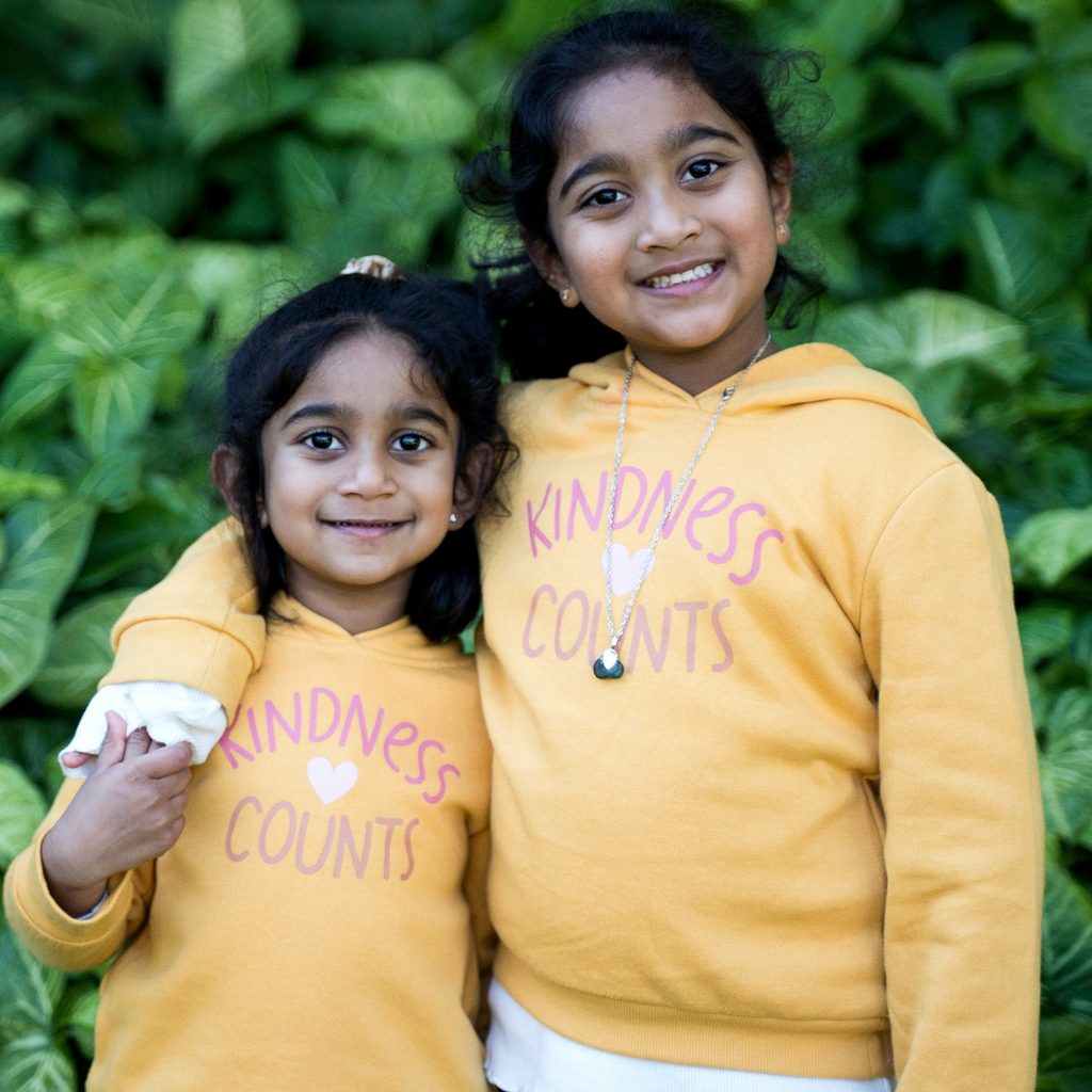 Tharnicaa and Kopika Murugappan the sisters of the Tamil family that were born in Australia and had settled in Biloela Queensland