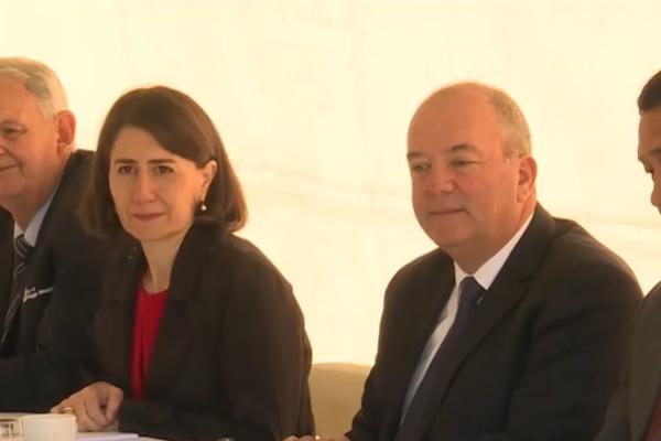 Gladys Berejiklian and Daryl Maguire